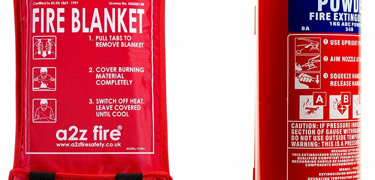 Be Cautious around Fire and Learn all about the use of a Fire Blanket