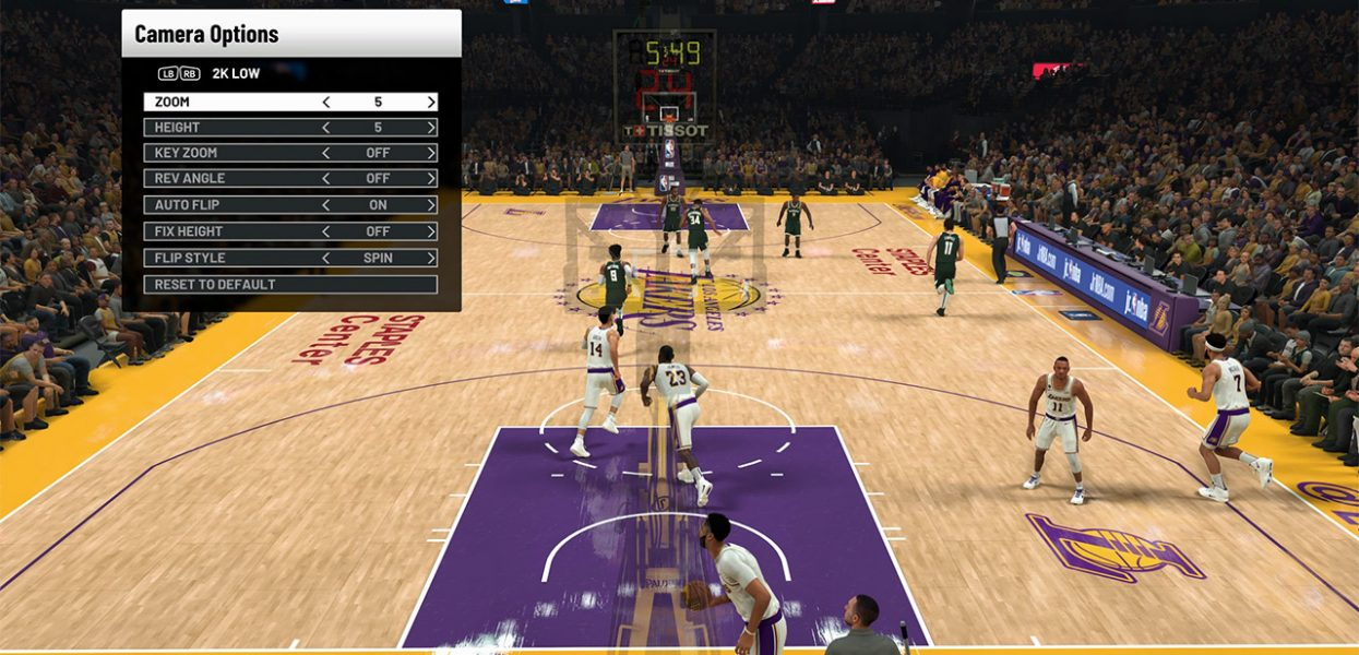 NBA 2K21: How to Change Camera Angles