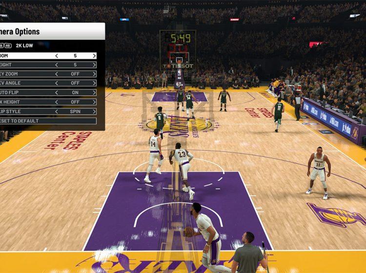 NBA 2K21: How to Change Camera Angles